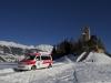 REO Rettung Oberengadin bei San Gian in Celerina