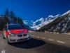 BMW Notarzt. REO Rettung Oberengadin am Berninapass.